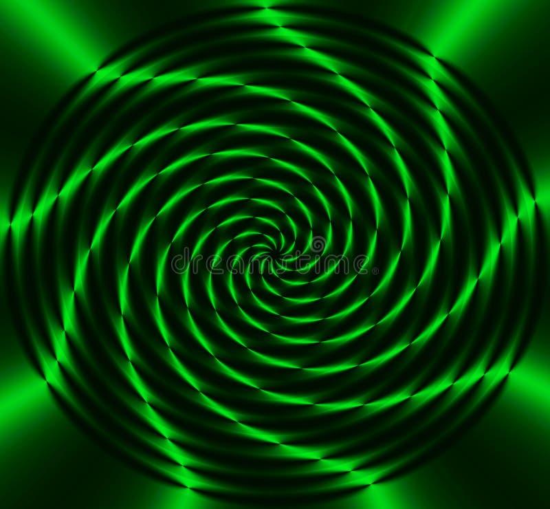 Rueda verde de la energía libre illustration