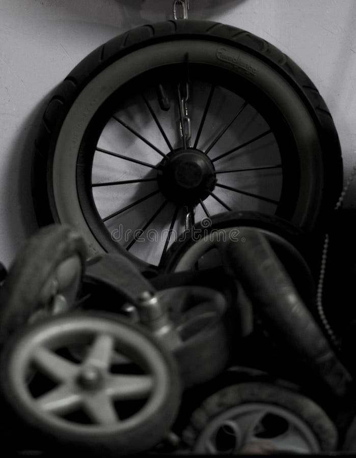 ruedas fotografía de archivo