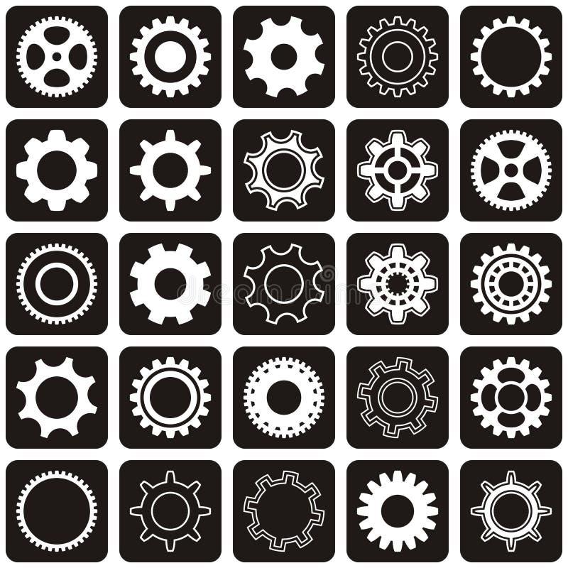 Ruedas de engranaje ilustración del vector