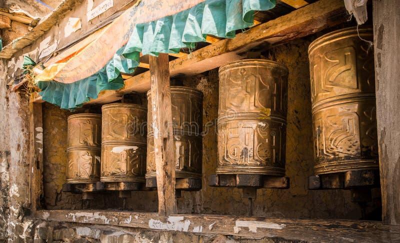 Ruedas de Kora Prayer foto de archivo