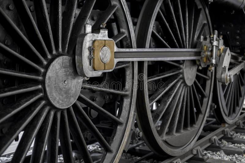 Download Ruedas De Una Locomotora Vieja Foto de archivo - Imagen de potencia, negro: 100531582