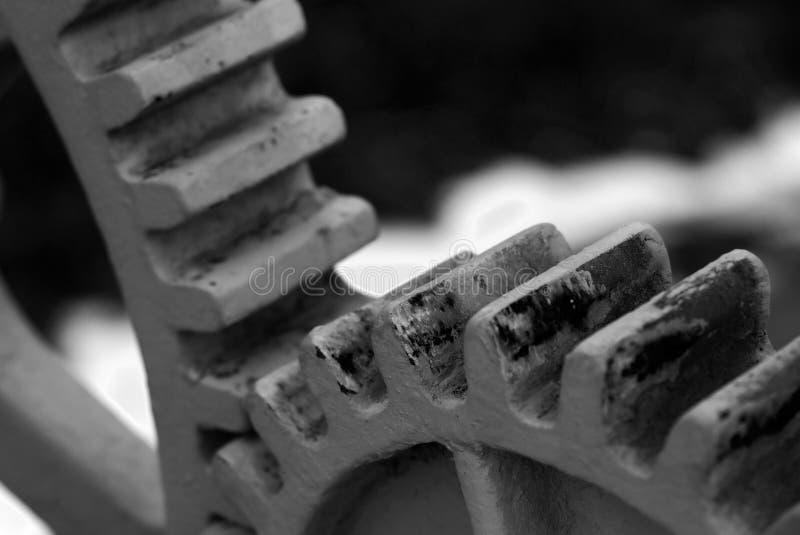 Ruedas dentadas imágenes de archivo libres de regalías