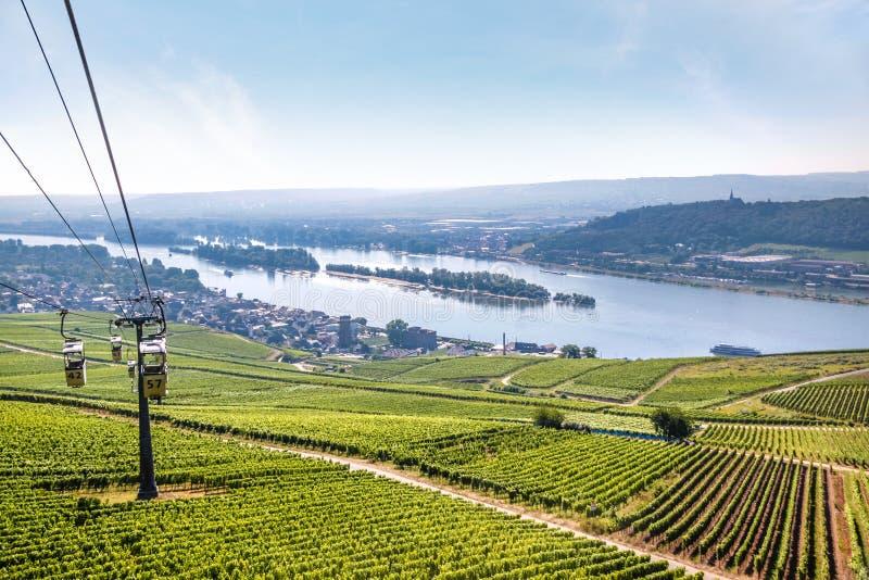 Ruedesheim στο Rheingau στοκ εικόνες