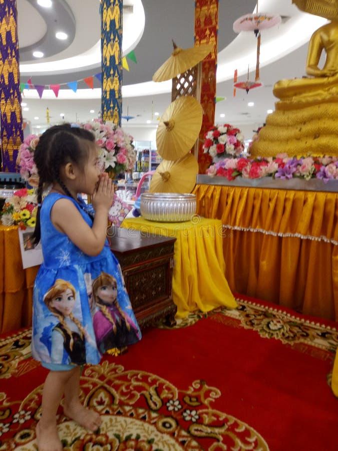 Ruegue a Buda foto de archivo