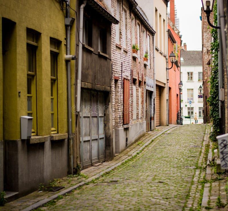 Ruelle à Gand photos libres de droits