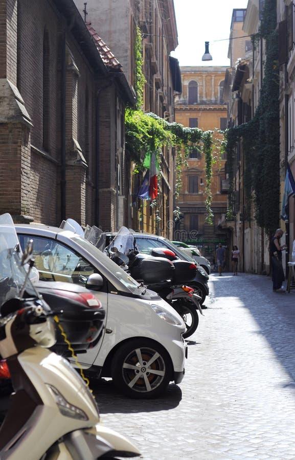 Ruelle à Rome photo libre de droits