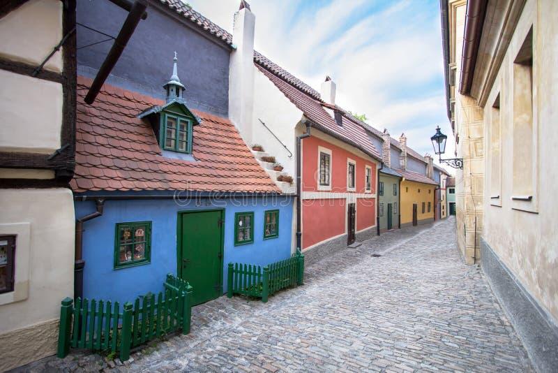 Ruelle d'or, Prague photos libres de droits