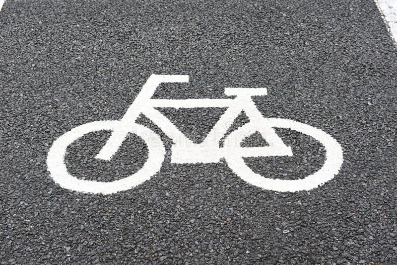 Ruelle de vélo images libres de droits