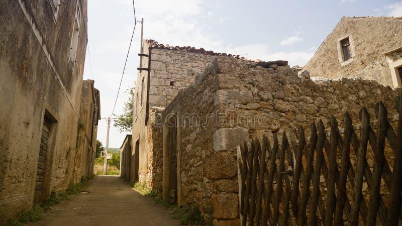 Ruelle historique Croatie photo libre de droits