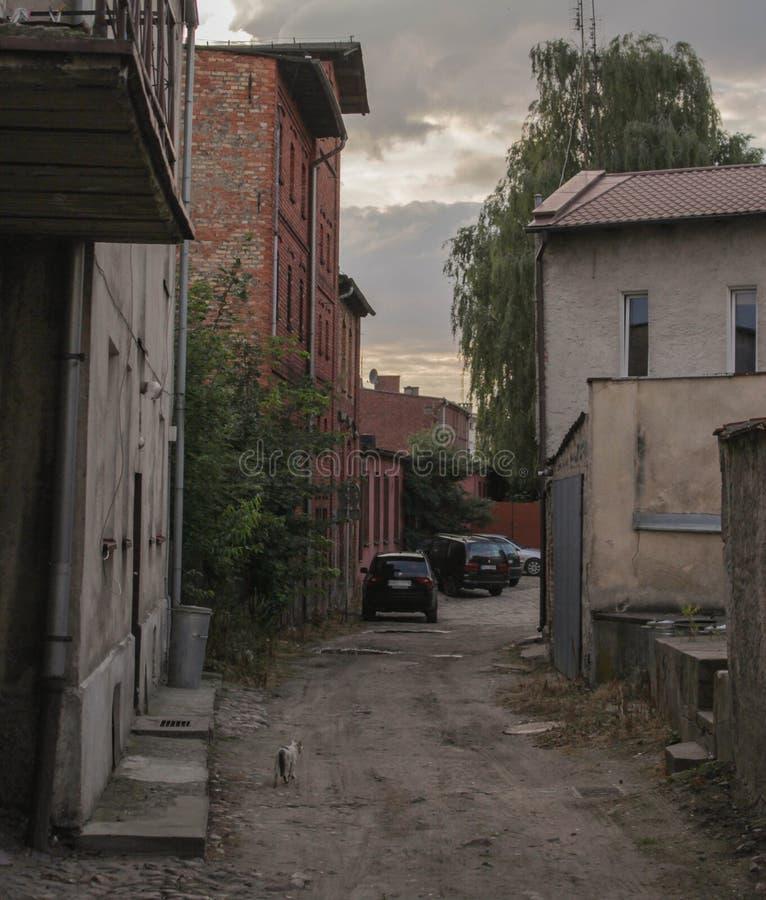 ruelle vieille image stock