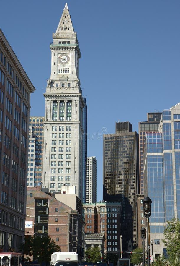 Rues 1 de Boston images libres de droits