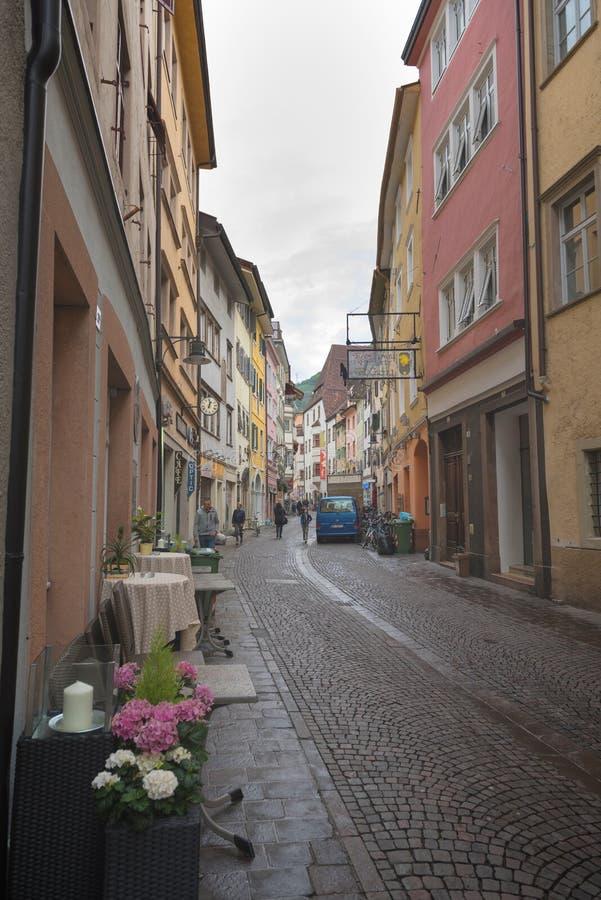 Rues au Tyrol du sud, Italie photo libre de droits