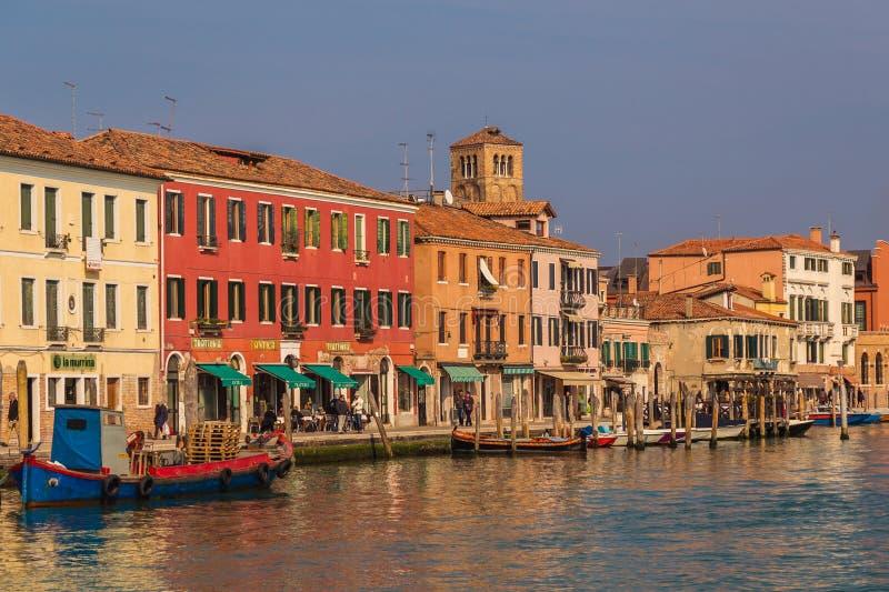 Rues dans Murano photos stock