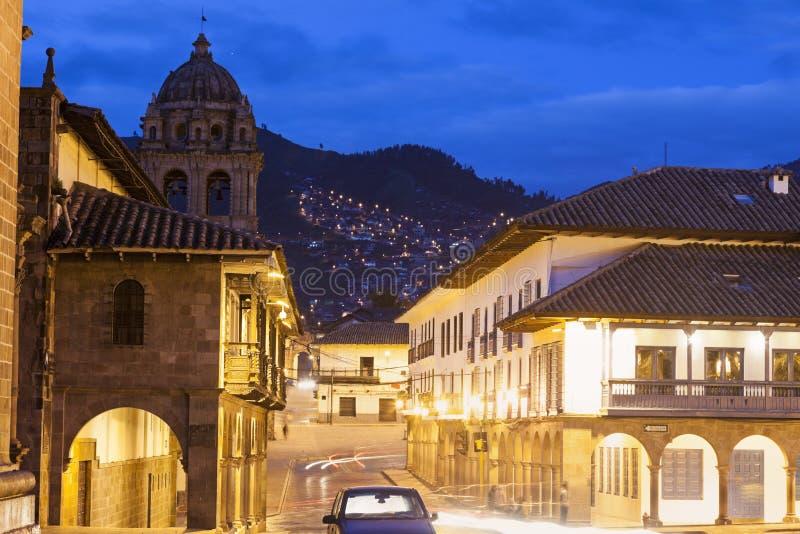Rues de Cuzco photographie stock libre de droits
