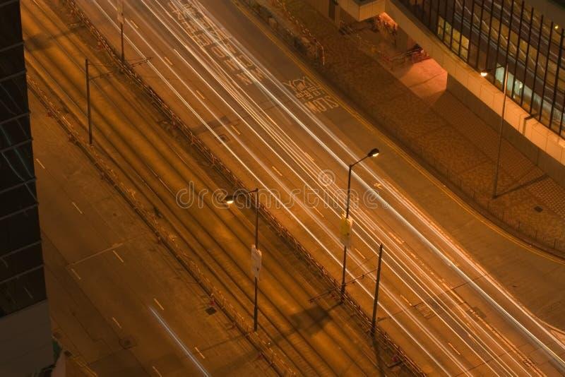 Rues de Hong Kong image libre de droits