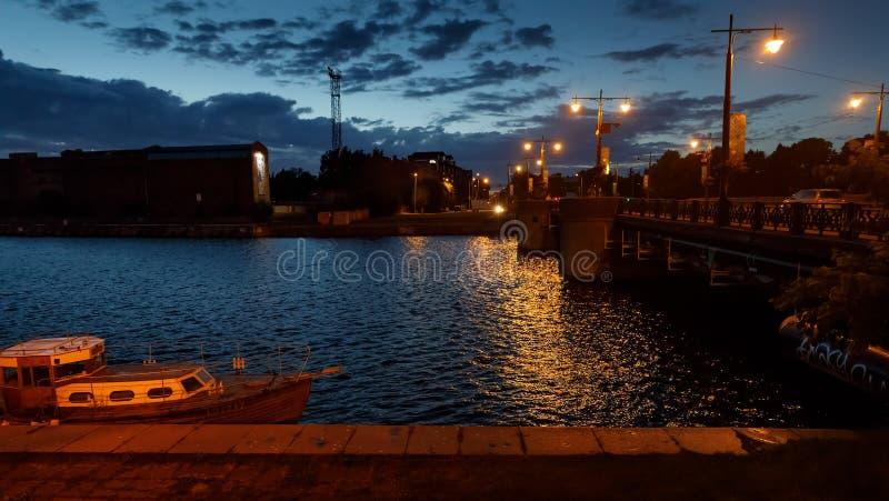 Rues de Liepaja, Lettonie photos stock
