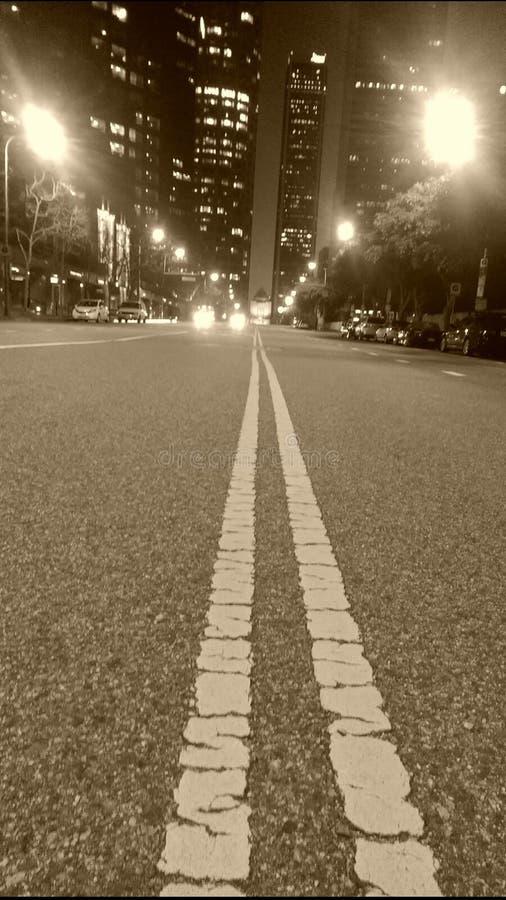 Rues de Los Angeles image stock