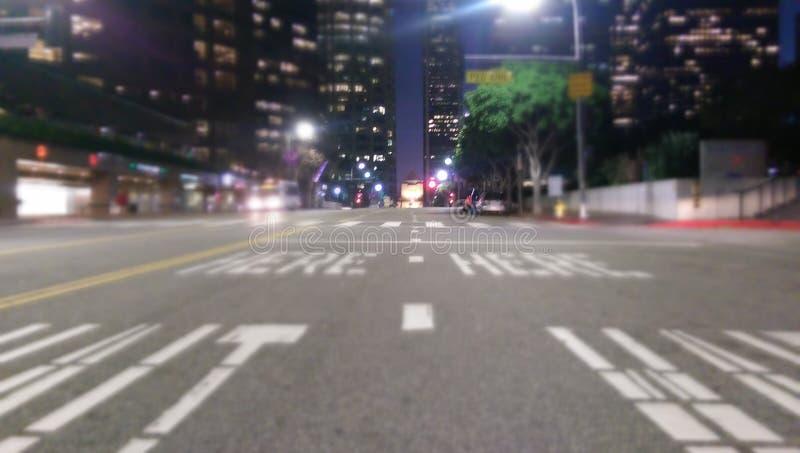 Rues de Los Angeles images libres de droits