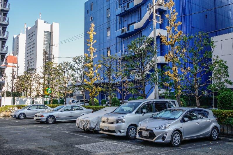 Rues de m?tropole de Tokyo, Japon photographie stock libre de droits