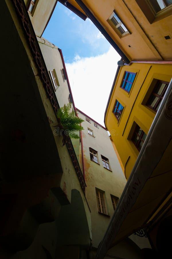Rues de Prague image libre de droits