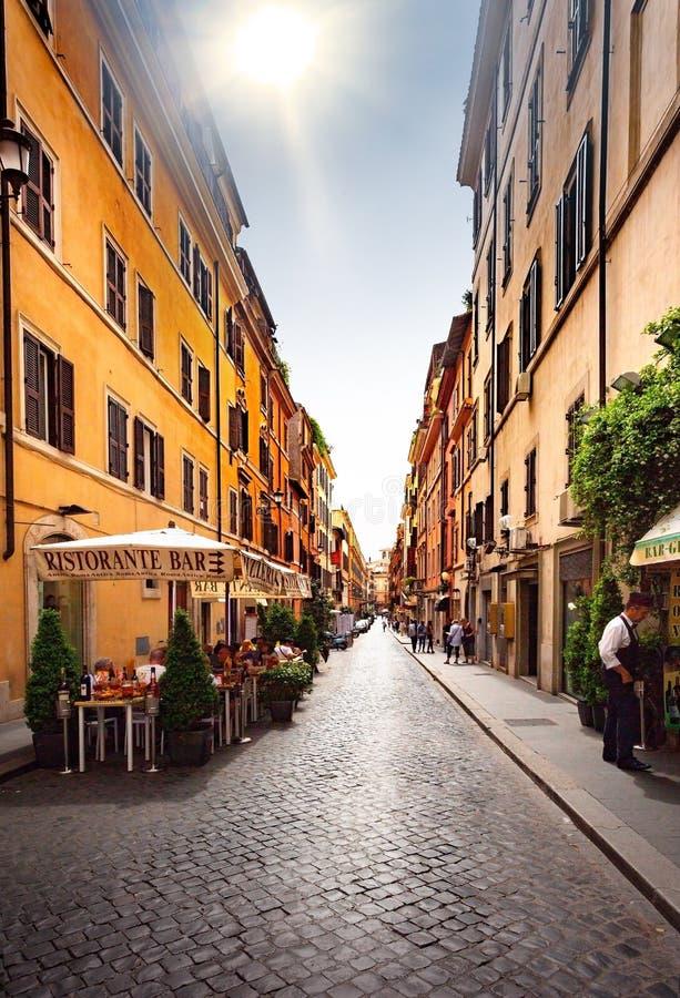 Rues de Rome photographie stock