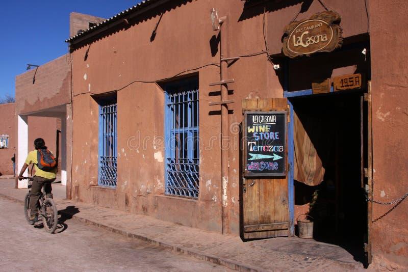 Rues de San Pedro photographie stock