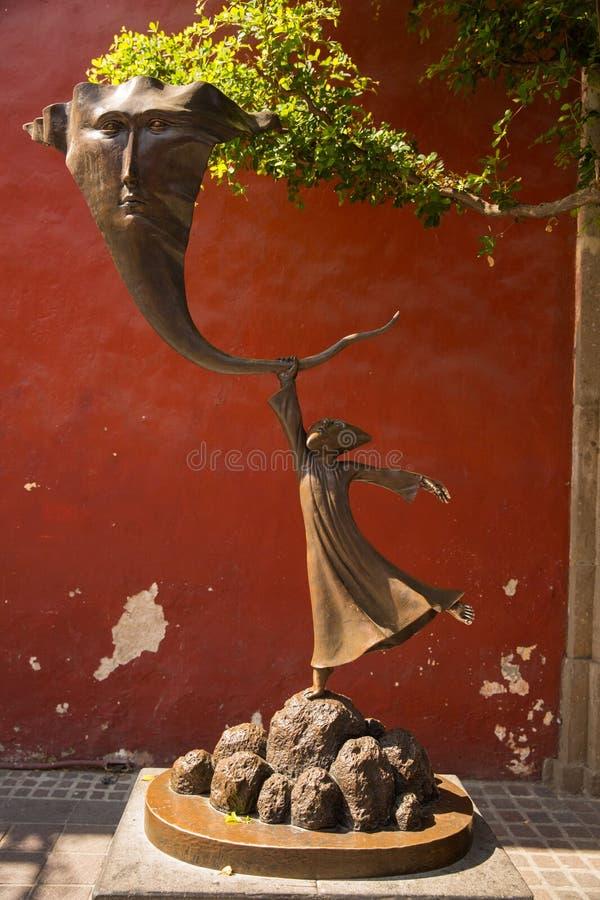 Rues de Tlaquepaque dans Jalisco, Mexique photo libre de droits