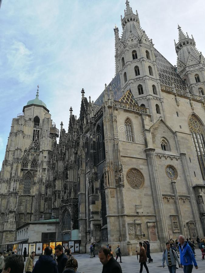 Rues de Vienne photos libres de droits
