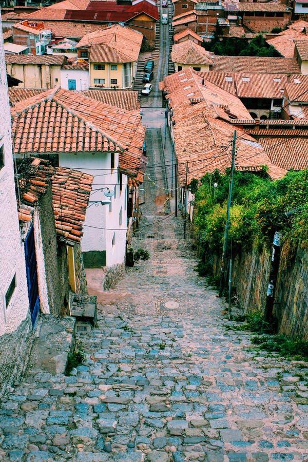 Rues de ville photos stock