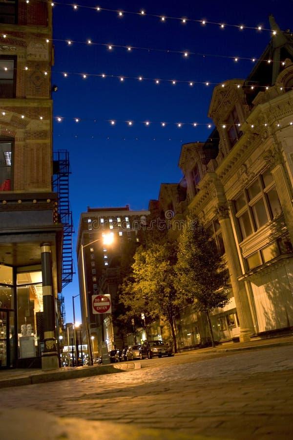 Rues de ville de Providence images stock