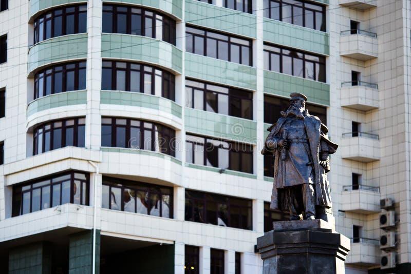 Rues de Vladivostok - la capitale de l'Extrême Orient image stock