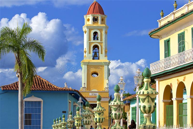 Rues du Trinidad, Cuba photographie stock