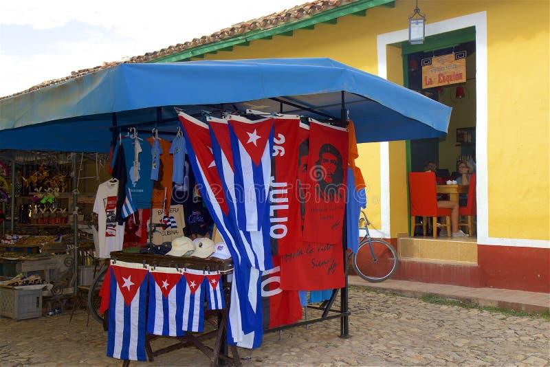 Rues du Trinidad, Cuba image libre de droits