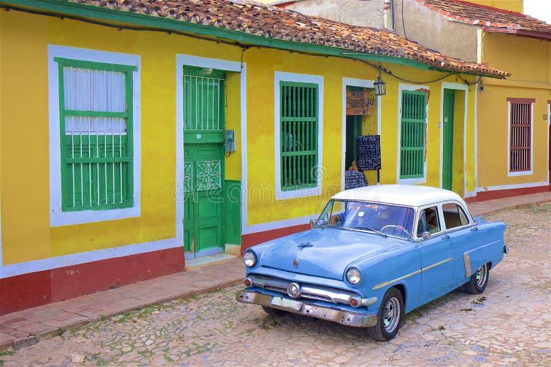Rues du Trinidad, Cuba photo stock