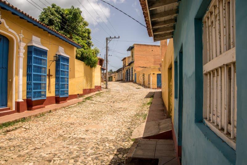 Rues du Trinidad, Cuba images stock
