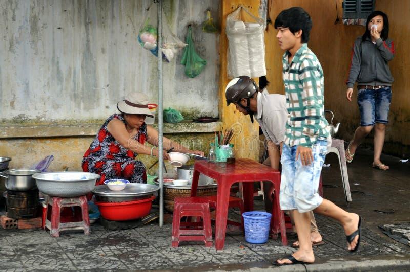 Rues du Vietnam images libres de droits
