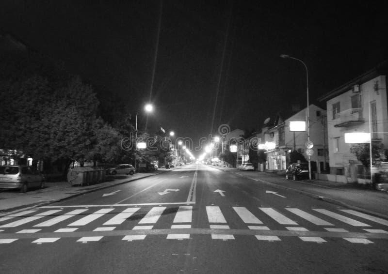 Rues sombres images libres de droits