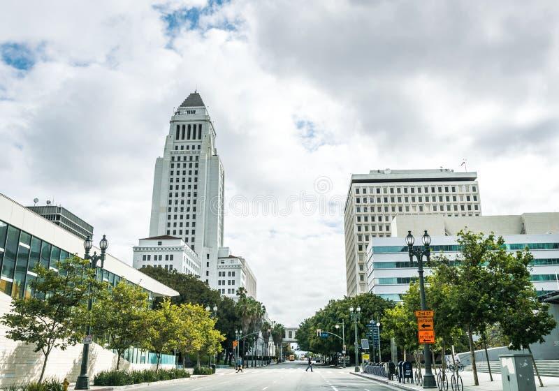 Rues urbaines de Los Angeles, la Californie, Etats-Unis images stock