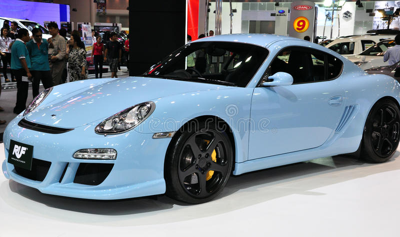 RUF 3.8 R Coupe high-performance car stock photos