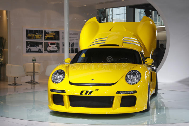Download Ruf CTR-3 Racer Premiere In Guangzhou Auto Show Editorial Photography - Image: 22153162