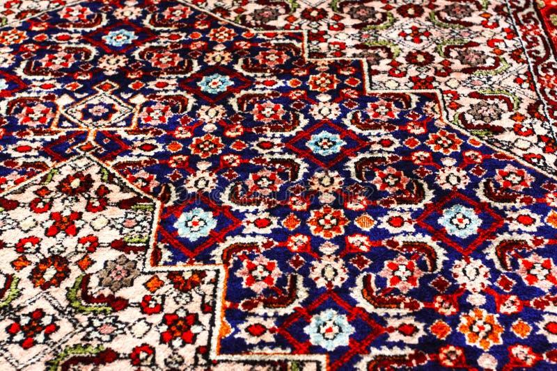 Rug_close oriental persa encima de la visión fotos de archivo libres de regalías