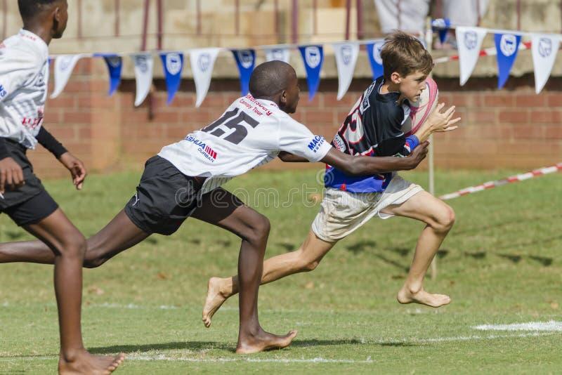 Rugbi Junior Schools fotografía de archivo libre de regalías