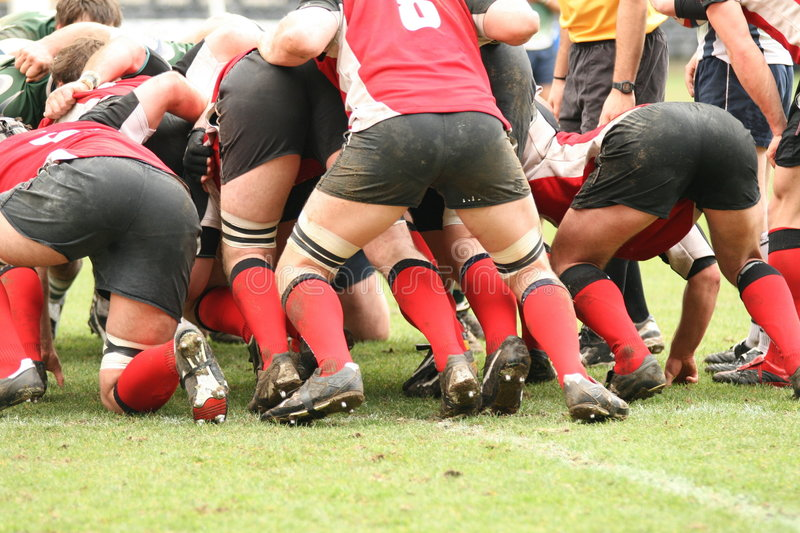 Rugby imagens de stock royalty free