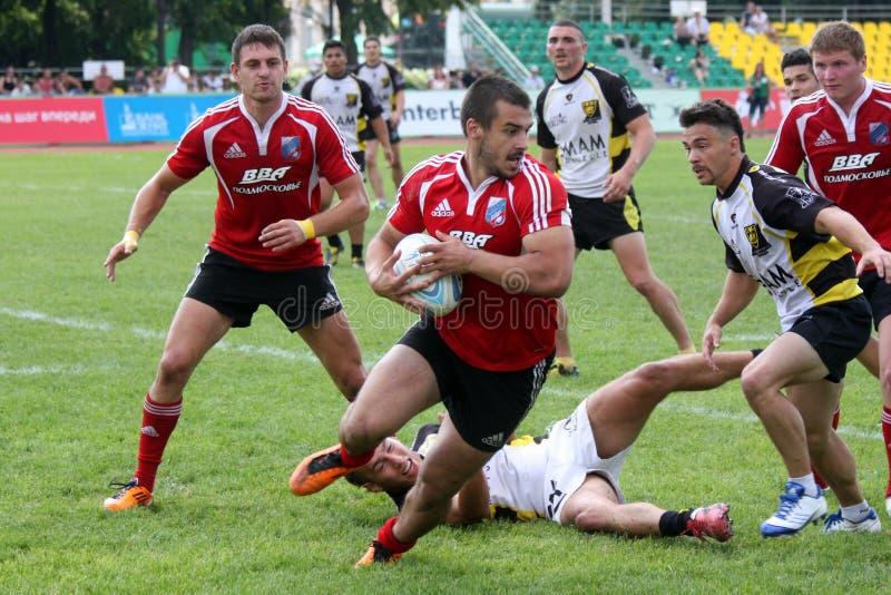 rugby royaltyfri bild