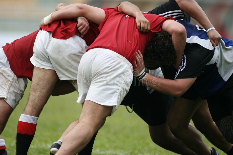 Rugby stock image