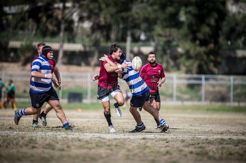 rugby immagini stock