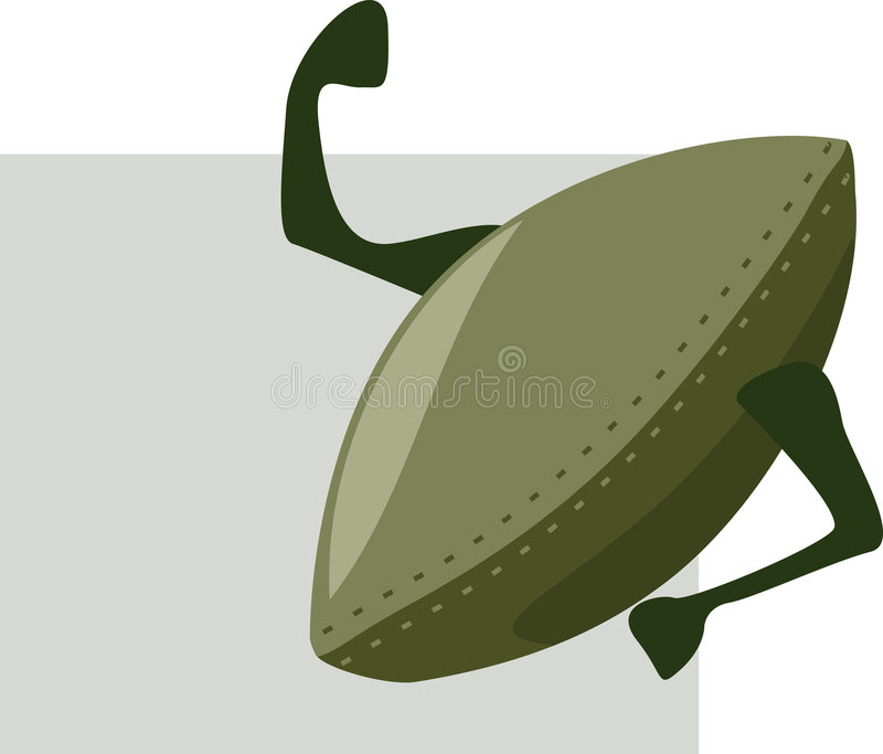Download Rugby ball stock vector. Image of stitching, official - 3623164