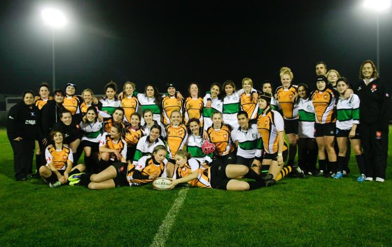 Rugby Clube de Caldas et tigres de Trillium photographie stock