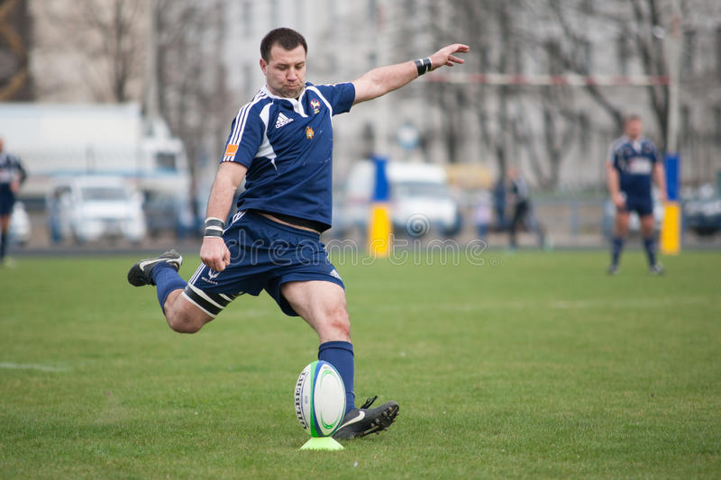 Rugby Editorial Stock Image