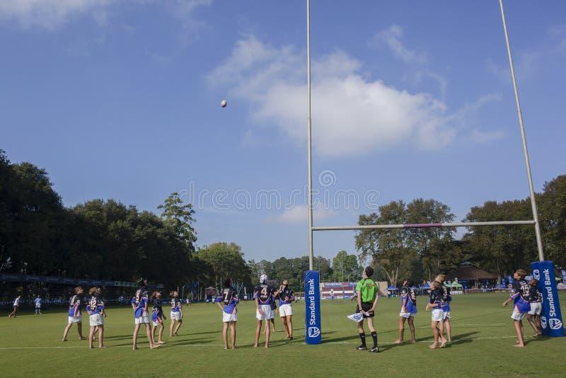 Rugby Junior Schools fotografering för bildbyråer